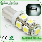 T10 BA9S 9smd5050 led car tail lamp,led car canbus light ,boot light