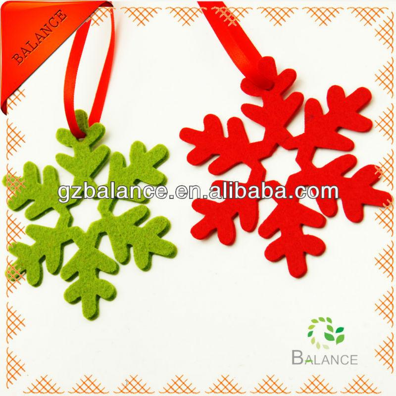 Christmas felt ornaments/customized home decoration/colorful felt ...