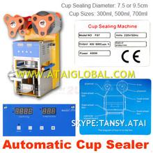 SEMI-AUTOMATIC BUBBLE TEA CUP SEALER