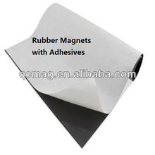 RUBBER MAGNETS Adhesive magnet sheets