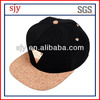 wholesale differernt types of gold plate snapback cap hat