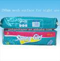 Sunny girl straight toalla sanitaria, Marca toallas sanitarias, Señora compresa sanitaria toalla exportados de extremo a extremo de áfrica