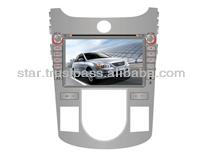 KIA CERATO 2012 Car DVD withGPS Navigation,Touch-Screen,Bluetooth,iphone menu,ipod,TV,AM/FM,Digital TFT LCD monitor,automatic