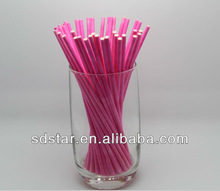 HY brand food grade colored lollipop cake candy paper sticks,paper product,paper gift