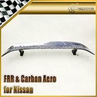For Nissan R35 GTR Carbon Fiber Mines Style Rear Trunk Spoiler WIng