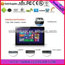 Windows tablet pc 8 inch N2600 / windows 8 tablet 10.1inch with 3G / windows8 tablet pc 11.6 inch