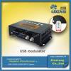 Good Price mini encoder modulator with USB record and playback
