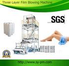 Sanyuan Three layer blown film machines for hdpe ldpe china extruder machine