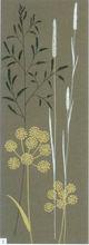 Handmade modern wall art leaf still life canvas painting
