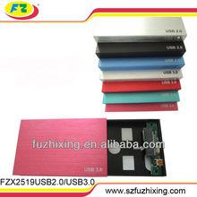 "USB 2.0 2.5"" SATA HDD Caddy/Case/Enclosure for External 1TB"