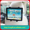 New design car headrest mount portable dvd player