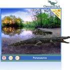 amusement park equipment prehistoric crocodile