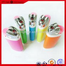wholesale utility plastic flint LIGHTER fancy refillable cigarette grinder gas lighter