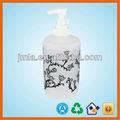 hermosa flor 300ml botella de detergente líquido de embalaje