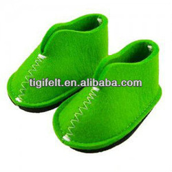 Indoor Casual Felt Shoes with Different Design and Colors