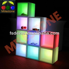 ice cube led iluminated lighting furniture led