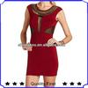 ODM OEM China manufacturer fashion clothing women latest design lady summer elegant boutique red Body-Con dress