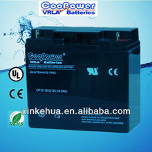Shen Zhen Lead acid battery 12V18AH/UPS battery