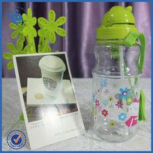 Cooling Straw Plastic Water Kids Bottle
