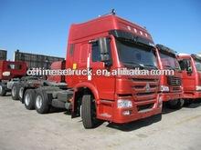 sinotruk howo white colour tractor truck 6x4 for Nigeria