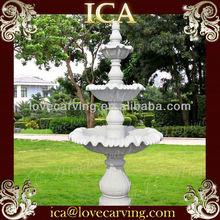 White marble garden natural stone fountains