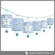 2014 New Decorating FSC Paper Lantern Garland
