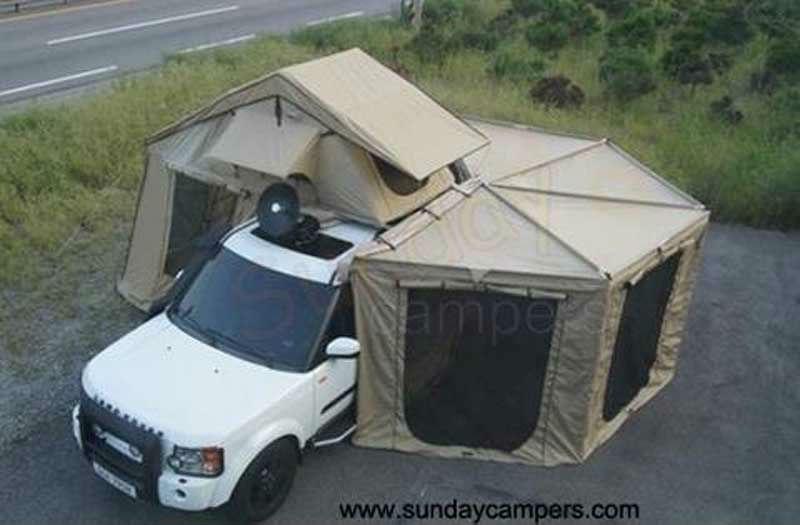 Палатку на крышу автомобиля своими руками