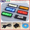 Factory price 12X48 pixels mutli-language scrolling programmable message mini scrolling led badge