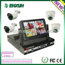 """7"""" LCD DVR Sony P2P Cloud HDMI camera set 600TVL DVR kit full set"""