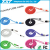 2013 hot selling colorful micro usb to rca cable for iphone 5 and for ipad