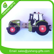 Truck Shape Rubber USB Drives