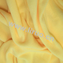100% Polyester DTY Anti Pilling Fleece Fabric For Variety Colors