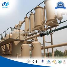 rifiuti di pneumatici e olio di plastica per la rigenerazione di raffinazione attrezzature