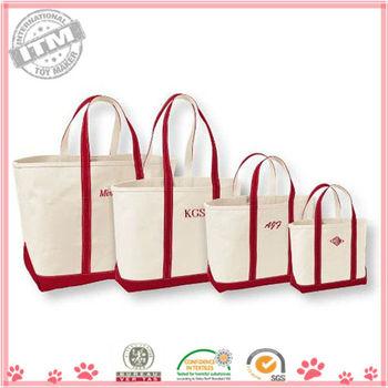 2013 Hot Sale Custom 100% Cotton Canvas Tote Bags