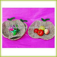 Handmade seagrass dry fruit tray