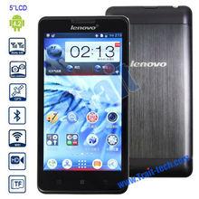 "Lenovo P780,3G Smartphone 1GB RAM 4GB ROM 5"" Capacitive Touch Screen Support Wifi GPS FM Bluetooth Dual Camera"