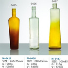 High Quality Colored Glass Wine Bottles