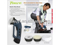 Caliente venta de zapatos eléctrico polaco, limpiador de calzado, recargable de la batería operada