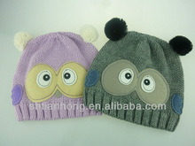 2014 fashion high quality owl animal winter hats