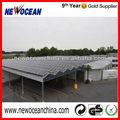 de efecto invernadero de aluminio sistema de energía solar fotovoltaica de la instalación