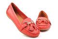 Vendas quentes! Mais recente de borla mulheres casual sapatos baixos 2014 senhoras novo designer red apartamento sapatas planas vermelho sapatos de casamento