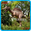Fiberglass dinosaur for play ground garden