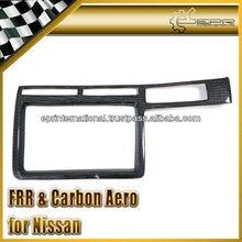 For Nissan R35 GTR Carbon Fiber R35 GTR Monitor & Natvigation Cover (LHD)