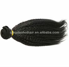 New arrival fashionable wholesale AAAAA grade 100% virgin kinky straight chinese remy kinky straight micro ring