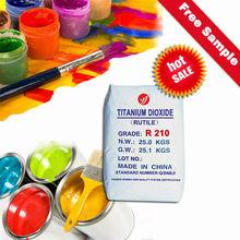 titanium dioxide rutile R210 (recognized quality)