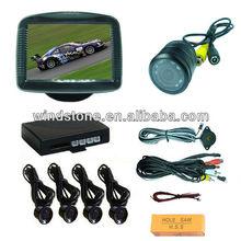3.5 inch Monitor Parking Sensor Camera Car Electronic Safe