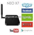 TV Box minix Neo X7 rk3188 Quad Core 2g/16g wifi hdmi usb mini pc RJ45 OTG SD kartı optik xbmc