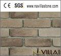 faux laminado cinza escuro tijolos da parede de acabamento