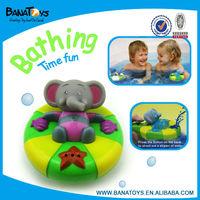 Lovely plastic baby rubber baby bath toys elephant set
