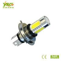 Newest H4 High lumens 750lm Equivalent to 15w DC 10-24v Cree White LED Head Light Bulb